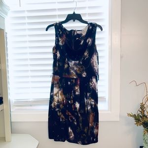 $100 CALVIN KLEIN NWT DRESS FLORAL SIZE 10
